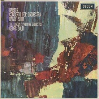 バルトーク:管弦楽のための協奏曲,舞踏組曲