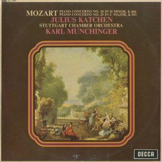 モーツァルト:ピアノ協奏曲20番K.466,25番K.503