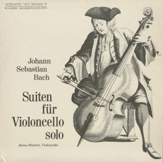 バッハ:無伴奏チェロ組曲1〜4番BWV.1007〜1010
