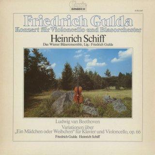 グルダ:チェロ協奏曲,ベートーヴェン:「魔笛」の主題による変奏曲Op.66