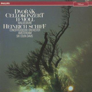 ドヴォルザーク:チェロ協奏曲Op.104,森の静けさOp.68