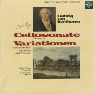 ベートーヴェン:チェロ・ソナタ3番Op.69,「ユダ・マカベア」変奏曲,「魔笛」変奏曲Op.66