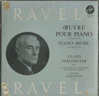 「ラヴェル:ピアノ作品集(協奏曲2曲含む)」