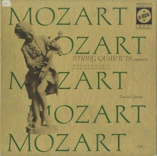 「モーツァルト:弦楽四重奏曲全集Vol.1〜3」(24曲)