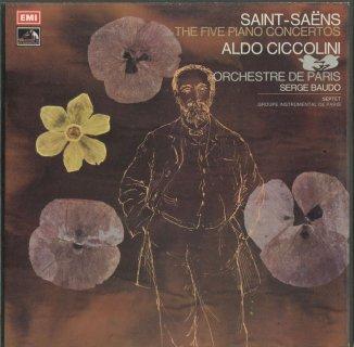 サン・サーンス:ピアノ協奏曲(全5曲),左手のための6つの練習曲,ワルツ形式の練習曲