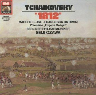 チャイコフスキー:序曲「1812年」Op.49,スラヴ行進曲Op.31,ポロネーズOp.24,フランチェスカ・ダ・リミニ
