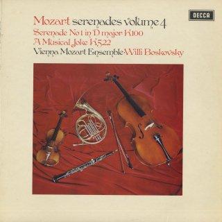 「モーツァルト:セレナーデ集Vol.4」1番K.100,音楽の冗談K.522