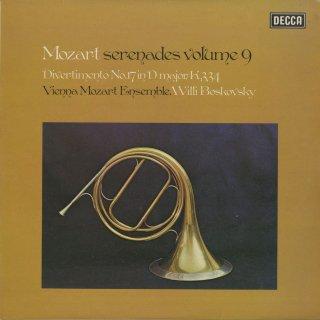 「モーツァルト:セレナーデ集Vol.9」/ディヴェルティメント17番K.334