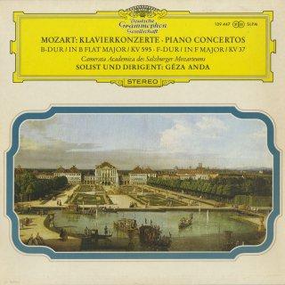 モーツァルト:ピアノ協奏曲1番K.37,27番K.595