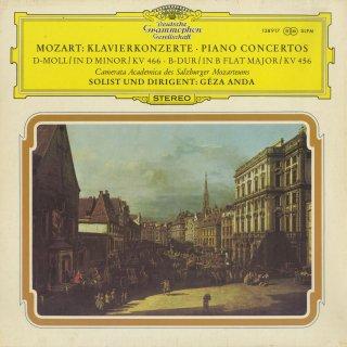 モーツァルト:ピアノ協奏曲18番K.456,20番K.466