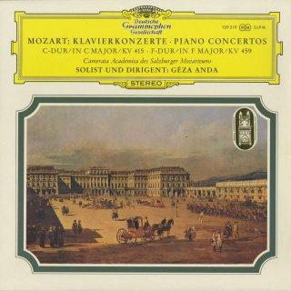 モーツァルト:ピアノ協奏曲13番K.415,19番K.459