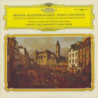 モーツァルト:ピアノ協奏曲11番K.413,15番K.450