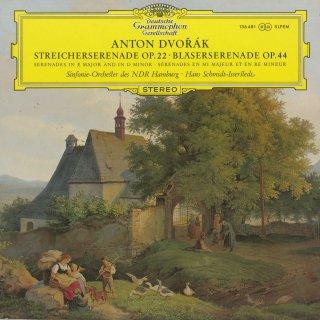 ドヴォルザーク:弦楽セレナーデOp.22,セレナーデOp.44