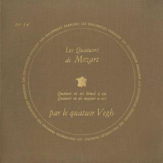 モーツァルト:弦楽四重奏曲16番K.428,19番K.465「不協和音」