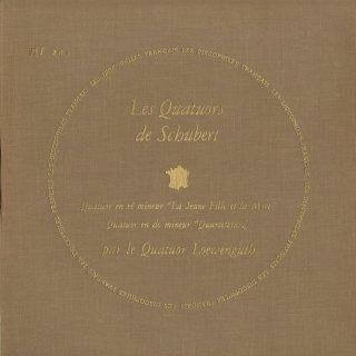 シューベルト:弦楽四重奏曲14番「死と乙女」,12番「断章」