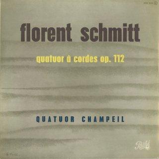 シュミット:弦楽四重奏曲 Op.112
