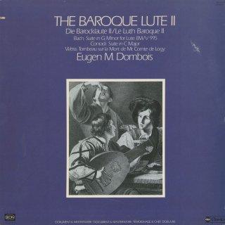 「バロック・リュート音楽集Vol.2」バッハ:組曲BWV.995,コンラーディ:組曲,ワイス:ロジ伯爵の死を悼むトンボー