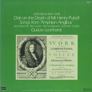 「ブロウ作品集」パーセルの死を悼む領歌,「イギリスのアンフィオン」(6曲)