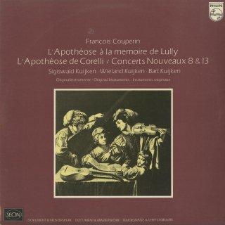 クープラン:コレッリ讃歌,リュリ讃歌,新しいコンセール8,13番