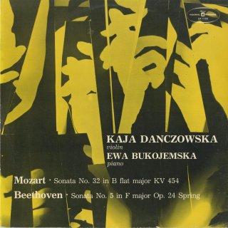 ヴァイオリン・ソナタ集/モーツァルト:K.454,ベートーヴェン:5番Op.24「春」
