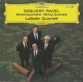 ドビュッシー:弦楽四重奏曲Op.10,ラヴェル:弦楽四重奏曲