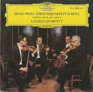 ヴォルフ:弦楽四重奏曲「困苦に耐え、欠乏を忍べ」