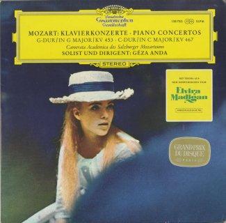 モーツァルト:ピアノ協奏曲17番K.453,21番K.467