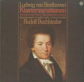 「ベートーヴェン:ピアノのための変奏曲全集」