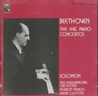 ベートーヴェン:ピアノ協奏曲全集(全5曲)