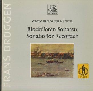 ヘンデル:ブロック・フレーテ・ソナタ(6曲)/Op.1-2,4,7,11 他2曲