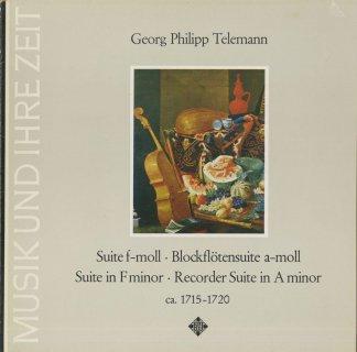 テレマン:2台のヴァイオリン・ヴィオラ・2つのブロック・フレーテのための組曲,ブロック・フレーテ・2つのヴァイオリン・ヴィオラのための組曲