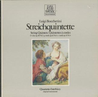 ボッケリーニ:弦楽五重奏曲52,73,83番