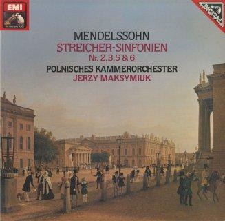 メンデルスゾーン:弦楽のための交響曲2,3,5,6番