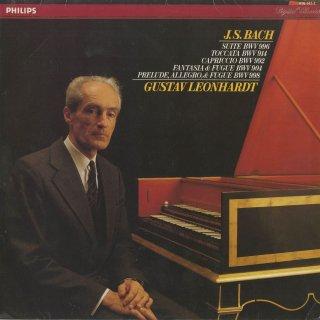 バッハ:組曲BWV.996(リュート作品),カプリッチョBWV.992,幻想曲とフーガBWV.904,トッカータBWV.914,前奏曲とフーガとアレグロBWV.998
