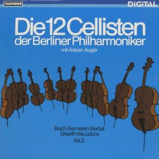 ヴィラ・ロボス:バキアナ・ブラジレイラ5番,バッハ:フーガの技法BWV.1080より,ベルターリ,シェリフ,バーンスタイン