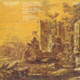 モーツァルト:ピアノ協奏曲16番K.451,17番K.453