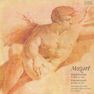 モーツァルト:ピアノ協奏曲8番K.246,12番K.414