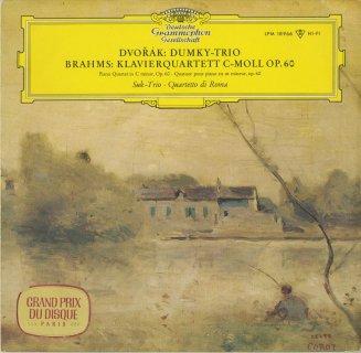 ドヴォルザーク:ピアノ・トリオOp.90「ドゥムキー」,ブラームス:ピアノ四重奏曲3番Op.60