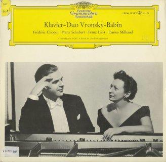「2台ピアノ曲集」ショパン:ロンドOp.73,シューベルト:幻想曲Op.103,リスト:悲愴協奏曲,ミヨー:スカラムーシュ