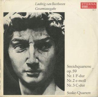 ベートーヴェン:弦楽四重奏曲7〜9番「ラズモフスキー」Op.59