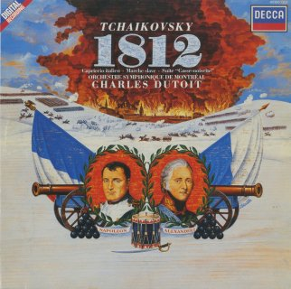 チャイコフスキー:祝典序曲「1812年」,イタリア奇想曲,くるみ割人形,スラブ行進曲