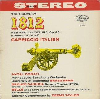 チャイコフスキー:祝典序曲「1812年」Op.49,イタリア奇想曲Op.45