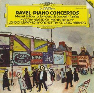 ラヴェル:ピアノ協奏曲,ジャンヌの扇〜ファンファーレ,古風なメヌエット,左手のためのピアノ協奏曲,クープランの墓