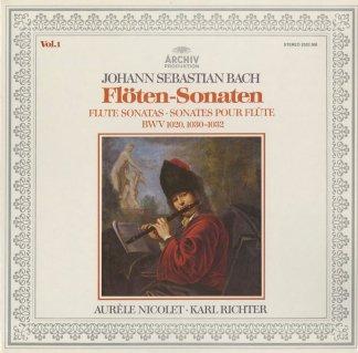 バッハ:フルート・ソナタ全集Vol.1・2/BWV.1020,1030〜1035,無伴奏BWV.1013