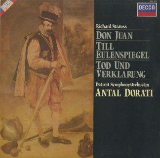 リヒャルト・シュトラウス:ドン・ファンOp.20,ティル・オイレンシュピーゲルOp.28,死と変容Op.24