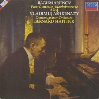 ラフマニノフ:ピアノ協奏曲2番Op.18,4番Op.40