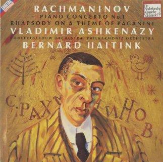 ラフマニノフ:ピアノ協奏曲1番Op.1,パガニーニの主題による狂詩曲Op.43