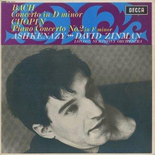 ピアノ協奏曲集/バッハ:1番BWV.1052,ショパン:2番Op.21