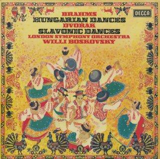 ブラームス:ハンガリー舞曲(9曲),ドヴォルザーク:スラヴ舞曲(6曲)