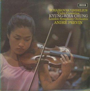 ヴァイオリン協奏曲集/シベリウス:Op.47,チャイコフスキー:Op.35
